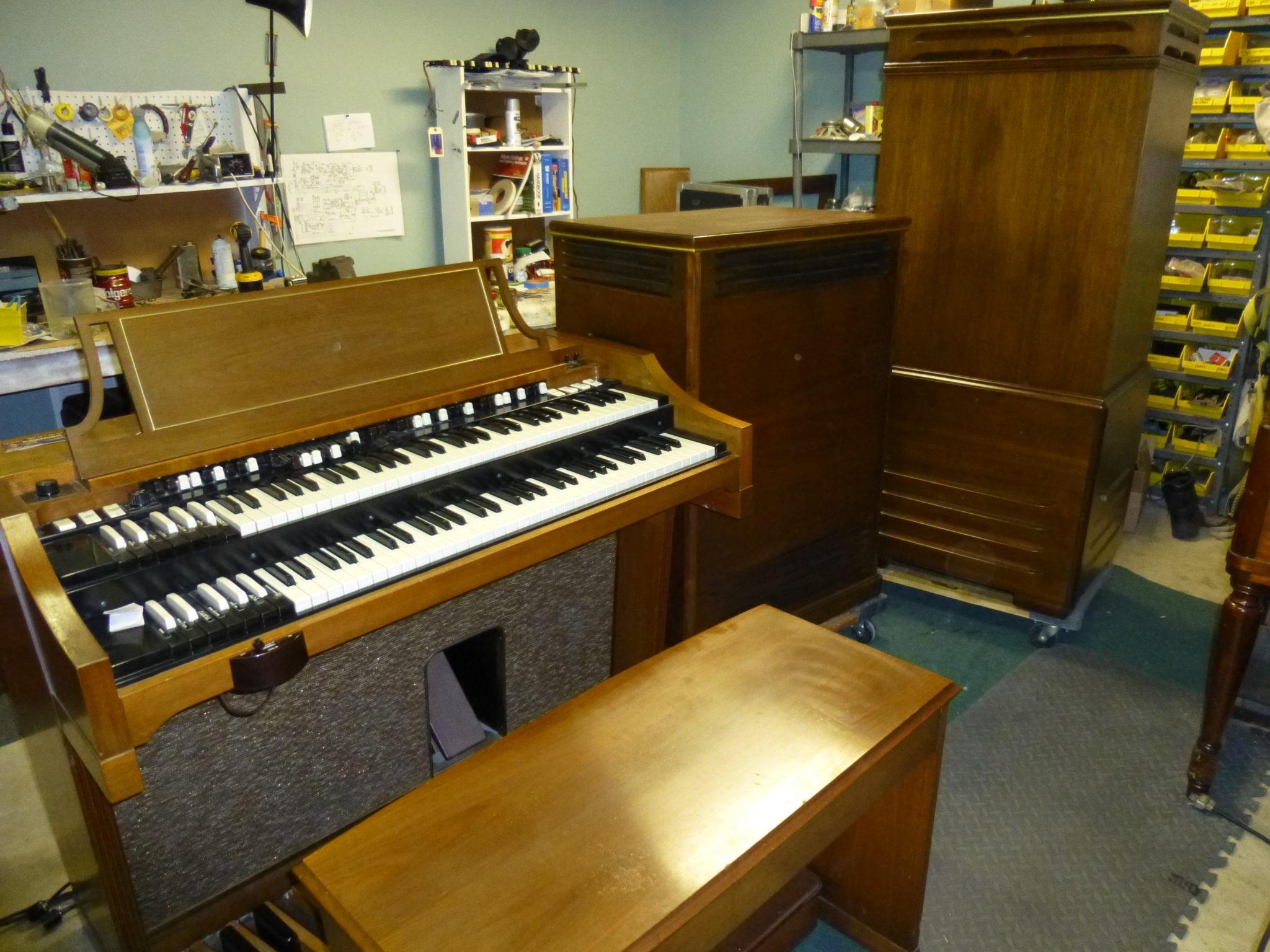Jay's Organ Service, Restoration and Sales, Sunnyvale Texas